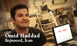 Omid Haddad, Iran