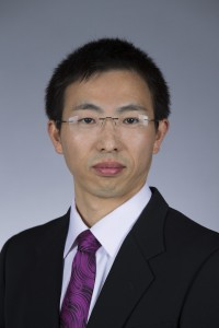 Lizhi Wang (Photo by Christopher Gannon/Iowa State University)