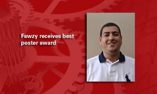 Fawzy receives best poster award
