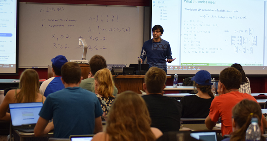 IMSE's Davarnia brings his focus on operations research to Iowa State